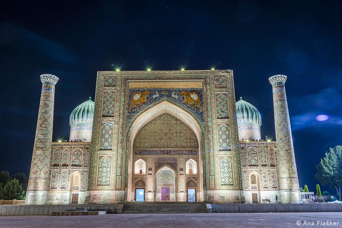 Silk Road E17: Patterns and Colors of Uzbekistan